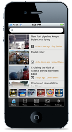 DVIDS iPhone App