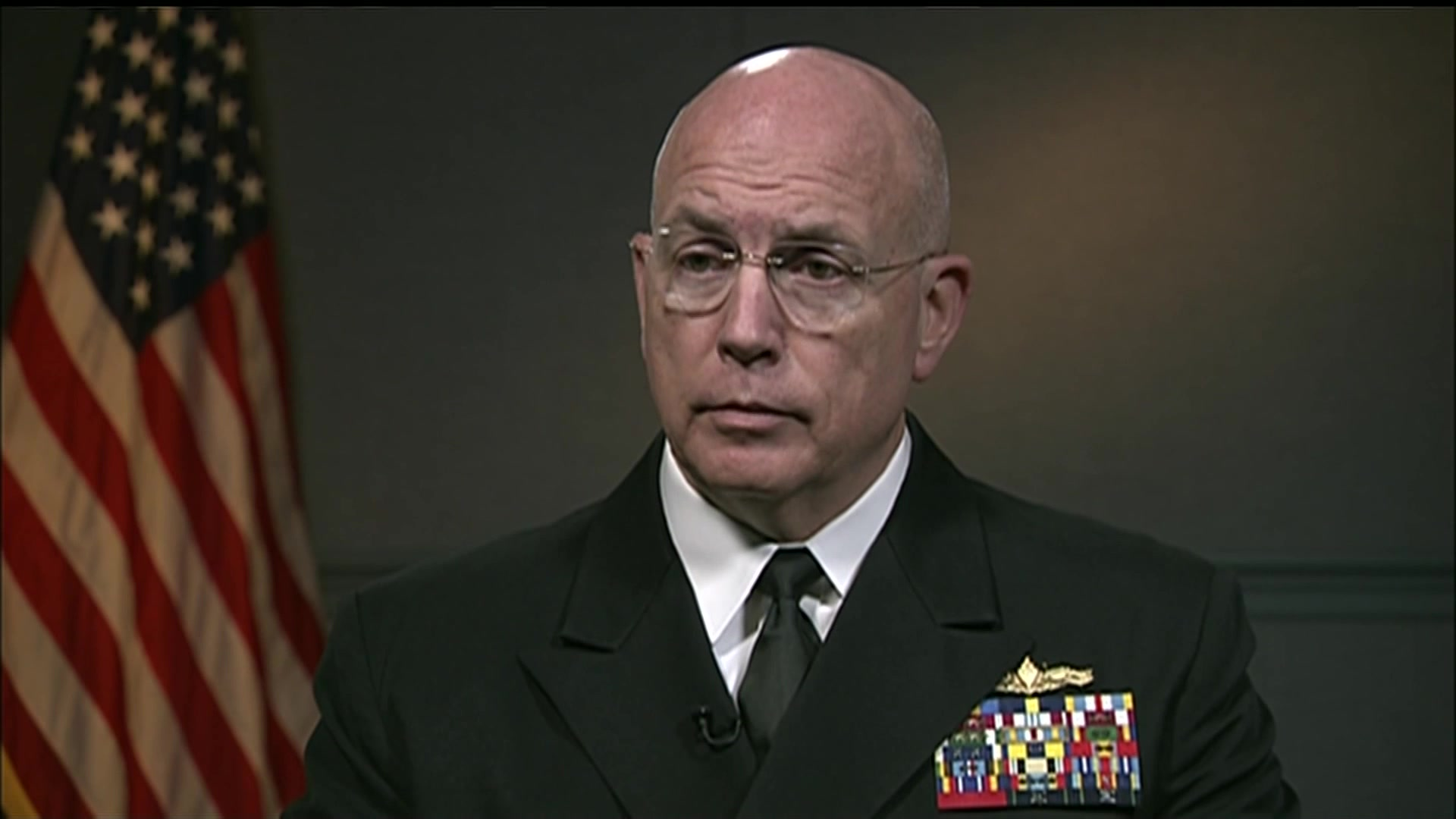 """Navy Adm. Kurt W. Tidd, commander of U.S. Southern Command, talks Southcom priorities, countering threat networks, military imperatives, and being a """"partner of choice"""" amongst allies, April 6, 2017."""