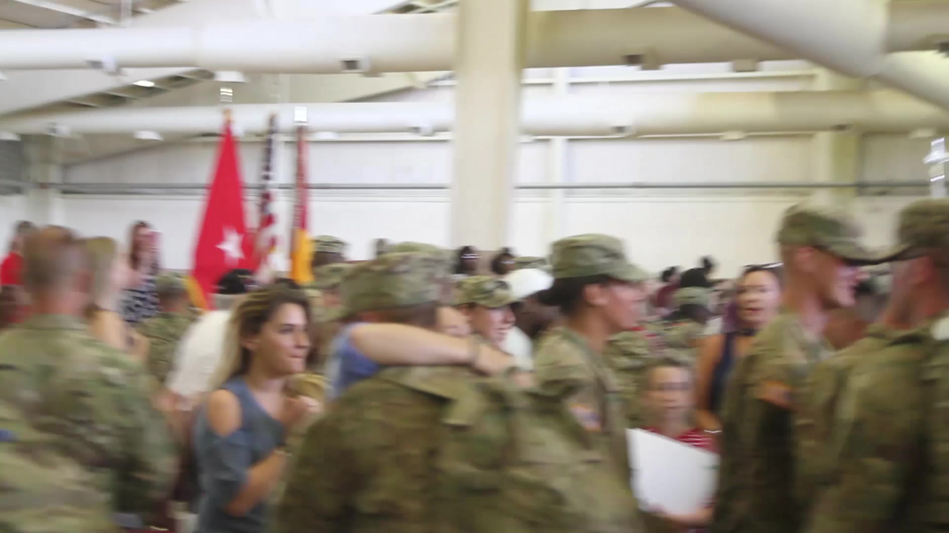 Army color casing ceremony script - 3rd Battalion 321st Field Artillery Regiment Redeploys