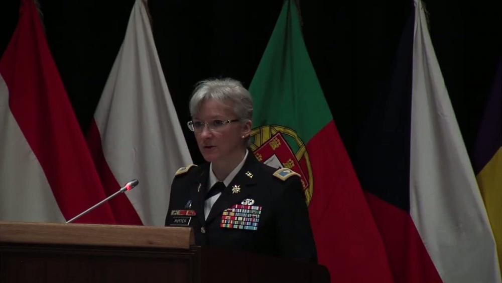 Dvids Video Speech Of Col Laura A Potter For Change