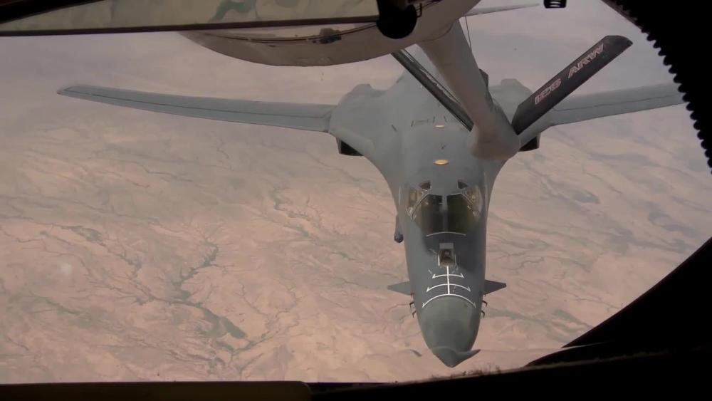 Dvids Video 34th Expeditionary Bomb Squadron Flies In