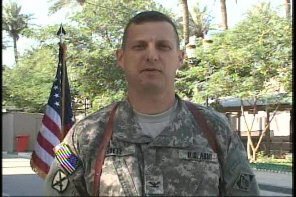 Dvids Video Col Joseph Goetz
