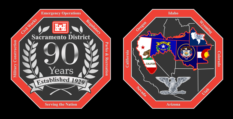 Sacramento District 90th Anniversary Coin