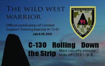 The Wild West Warrior - July 27, 2012