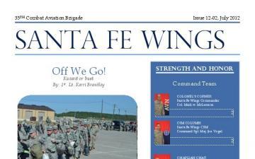 Santa Fe Wings - 08.15.2012
