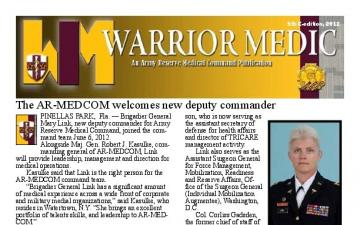 AR-MEDCOM Warrior Medic Magazine - 09.04.2012