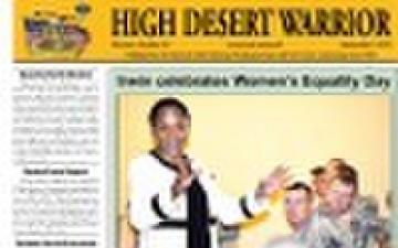 HIGH DESERT WARRIOR - 09.09.2010