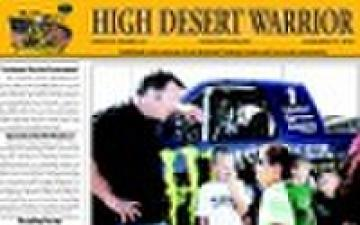 HIGH DESERT WARRIOR - 09.16.2010