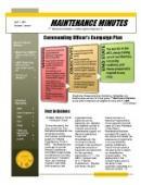 Maintenance Minutes - 04.01.2011