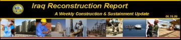 Iraq Reconstruction Report