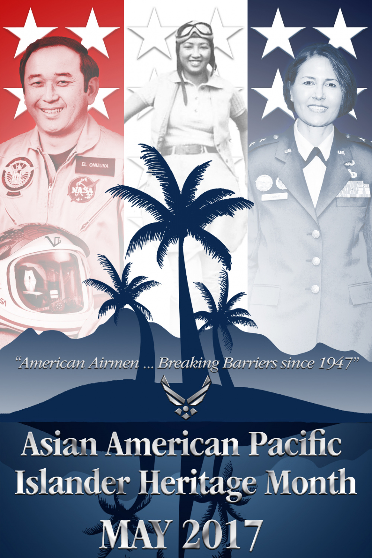Asian American Pacific Islander Heritage Month Poster Meduim